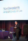 J.B.Pritzker donates 100 million dollars to the Northwestern Law School. Photo by Jim Prisching