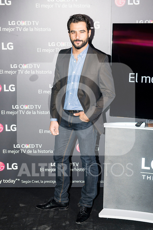 "Antonio Velazquez attends to the presentation of the new television ""LG OLED TV"" at Domo of the University in Madrid, September 28, 2015.<br /> (ALTERPHOTOS/BorjaB.Hojas)"