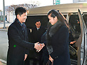 North Korean delegates arrive in South Korea to inspect venues for PyeongChang Olympics