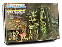 BNPS.co.uk (01202 558833)<br /> Pic: Vectis/BNPS<br /> <br /> PICTURED: Mattel Masters of the Universe He-Man Castle Greyskull sold for £2,520<br /> <br /> One man's epic collection of retro eighties' toys has been sold for £220,000 by his family following his death.<br /> <br /> Dr Cornel Flemming amassed more than 1,600 toy action figures and cars for franchises like Star Wars, He-Man and Transformers. <br /> <br /> The market for nostalgic toys is booming at the moment which is reflected in the prices some of the toys achieved.<br /> <br /> An unopened pack of three He-Man figures featuring He-Man, Teela and Ram Man made by Mettel sold for an incredible £12,000.