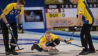 Glasgow. SCOTLAND.  &quot;Semi Final&quot; Game. Le Gruy&egrave;re European Curling Championships. 2016 Venue, Braehead  Scotland<br /> Thursday  24/11/2016<br /> <br /> [Mandatory Credit; Peter Spurrier/Intersport-images]