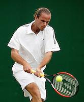 28-6-06,England, London, Wimbledon,second round match,  Xavier Malisse