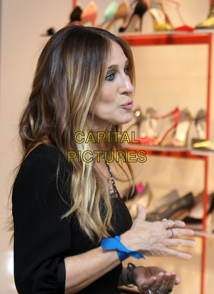 WASHINGTON, DC - DECEMBER 8: Sarah Jessica Parker at her SJP Boutique Opening At MGM National Harbor in Washington, DC on December 8, 2016. <br /> CAP/MPI34<br /> &copy;MPI34/Capital Pictures