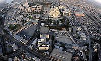 July. 10, 2009; Los Angeles, CA, USA; Aerial views of downtown Los Angeles. Mandatory Credit: Mark J. Rebilas