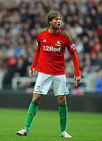 Saturday 17 November 2012<br /> Pictured: Michu of Swansea<br /> Re: Barclay's Premier League, Newcastle United v Swansea City FC at St James' Park, Newcastle Upon Tyne, UK.