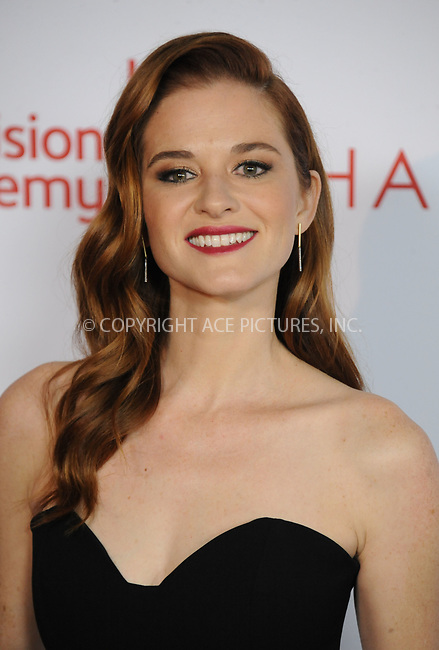 www.acepixs.com<br /> <br /> November 15 2017, LA<br /> <br /> Sarah Drew arriving at the Television Academy's 24th Hall of Fame Ceremony at the Saban Media Center on November 15, 2017 in Los Angeles, California.<br /> <br /> By Line: Peter West/ACE Pictures<br /> <br /> <br /> ACE Pictures Inc<br /> Tel: 6467670430<br /> Email: info@acepixs.com<br /> www.acepixs.com