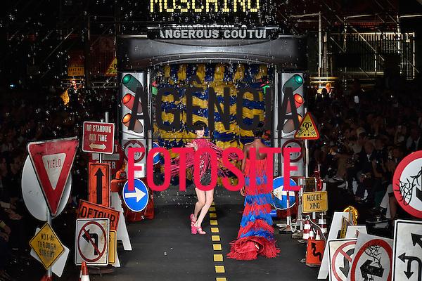 Moschino<br /> <br /> Milao -  Verao 2016