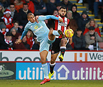 Cameron Carter-Vickers of Sheffield Utd during the Championship match at Bramall Lane Stadium, Sheffield. Picture date 26th December 2017. Picture credit should read: Simon Bellis/Sportimage