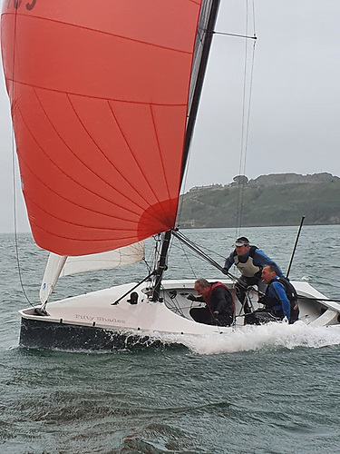 The National 18s had three races at Crosshaven on Wednesday