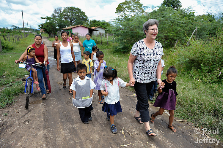 Loretta Davidson is a United Methodist individual volunteer in mission in Talanga, Honduras, where she works with children and their families.