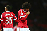 Marouane Fellaini of Manchester United looks dejected - Manchester United vs West Ham United - Barclay's Premier League - Old Trafford - Manchester - 05/12/2015 Pic Philip Oldham/SportImage