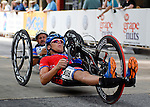 May 28, 2012: Anthony Pedeferri competes in the 2012 U.S. Handcycling Criterium National Championships, Greenville, SC.