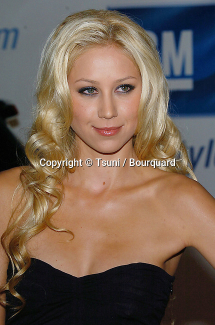 Anna Kournikova arriving at the GM ten Fashion Show in Los Angeles. February 28, 2006.
