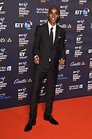 Sir Mo Farah arriving for the BT Sport Industry Awards 2018 at the Battersea Evolution, London, UK. <br /> 26 April  2018<br /> Picture: Steve Vas/Featureflash/SilverHub 0208 004 5359 sales@silverhubmedia.com