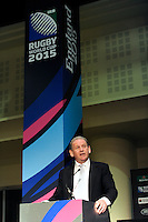England Rugby 2015 Chairman Andy Cosslett during the Rugby World Cup 2015 Venues and Match Schedule Launch at Twickenham Stadium on Thursday 2nd May 2013 (Photo by Rob Munro)