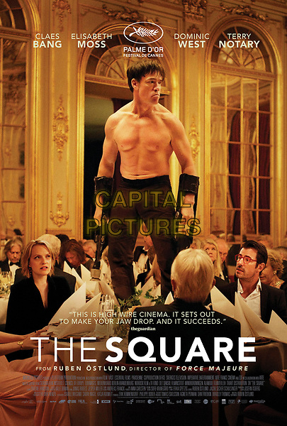 The Square (2017) <br /> Theatrical one-sheet poster art<br /> *Filmstill - Editorial Use Only*<br /> CAP/KFS<br /> Image supplied by Capital Pictures