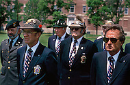Special Force, April 1982. Ceremony for the 30th Anniversary of the Special Force, millitary parade at Fort Devens, MA. Special Force veterans gathered for that ocation.