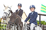 JUMPING FOR SUCCESS: Milltown sisters, Emma and Klara O'Sullivan, who will both be competing at the Dublin Horse Show in two weeks time.