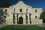 "The Alamo Mission in San Antonio, commonly known simply ""The Alamo"", was originally known as the Mission San Antonio de Valero. It is a former Roman Catholic mission and fortress compound and the site of the Battle of the Alamo in 1836. It is now a museum in the Alamo Plaza District of Downtown San Antonio, Texas, USA. Built by the Spanish Franciscan priest, Antonio de Olivares, and Payaya Indians, it forms the genesis of the present city of San Antonio, Texas, along with the Presidio San Antonio de Bexar and the Acequia Madre de Valero."