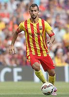 FC Barcellona's Martin Montoya during La Liga match.September 13,2014. (ALTERPHOTOS/Acero) <br /> Football Calcio 2014/2015<br /> La Liga Spagna<br /> Foto Alterphotos / Insidefoto