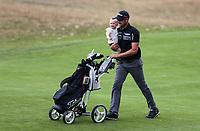 Daniel Pearce balances work and family. Charles Tour, Christies Mt Maunganui Open, Mt Maunganui Golf Club, Tauranga, New Zealand. Saturday 14th December 2019. Photo: Simon Watts/www.bwmedia.co.nz/NZGolf