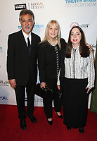 BEVERLY HILLS, CA - NOVEMBER 11: Joe Mantegna, Arlene Vrhel, Mia Mantegna, at AMT's 2017 D.R.E.A.M. Gala at The Montage Hotel in Beverly Hills, California on November 11, 2017. Credit: Faye Sadou/MediaPunch /NortePhoto.com