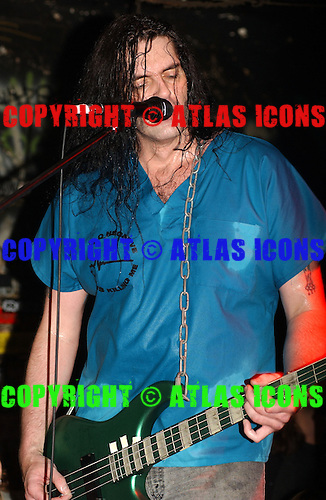 Type O Negative; CBGB , New York City, On 6-14-2003<br /> Photo Credit: Eddie Malluk/Atlas Icons.com