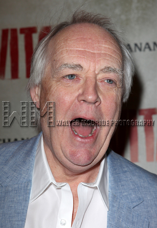 Tim Rice.attending the Broadway Opening Night Performance of 'EVITA' at the Marquis Theatre in New York City on 4/6/2012