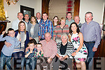 Celebrating his 70th birthday with family and friends on Saturday night was David O'Donoghue from Castleisland at the Grand Hotel on Saturday