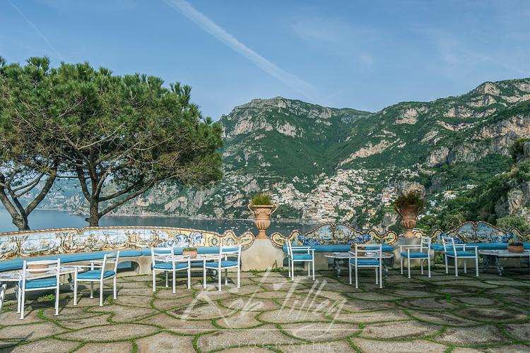 Europe, Italy, Amalfi Coast, Positano, Hotel Baconly View of Positano