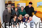 Play Acting<br /> -------------<br /> A Wake in the West was performed by Camp Drama Group last Fri &amp; Sat night in the Old school Camp (front) L-R Eileen Quirke,Karen Blennerhassit,Breda Quirke&amp;Keith Flaherty (back) L-R Mike O'Neill,Fergal Crean,Hazel Evans,Gene Finn,Ann Eager&amp; Mike Nolan