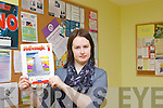 Claire Walsh, Community Development Worker in the Shannow Family Resource Centre, Abbeydorney  which is taking names for their Maths Workshop which is running over the next few weeks.
