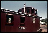 Cumbres &amp; Toltec caboose #0503<br /> C&amp;TS  Chama, NM