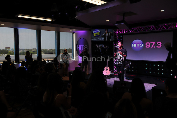 HOLLYWOOD, FL - JUNE 13: Jordan Fisher performs at radio station Hits 97.3 on June 13, 2016 in Hollywood, Florida. Credit: mpi04/MediaPunch