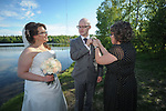 The wedding of Reed Foreman and Jennafer Brooks  June 2, 2017.