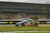 14th April 2018, Circuit de Barcelona-Catalunya, Barcelona, Spain; FIA World Rallycross Championship; Peter Solberg 11 during Fia World Rally Corss Championship round 1