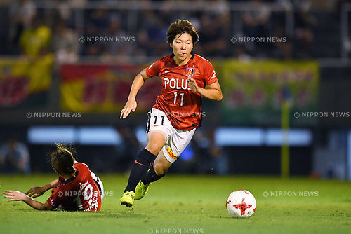 Kiko Seike (Reds Ladies), <br /> AUGUST 12, 2017 - Football / Soccer : <br /> Plenus Nadeshiko League Cup 2017 Division 1 <br /> Final match between JEF United Ichihara Chiba Ladies 1-0 Urawa Reds Ladies<br /> at Nishigaoka Soccer Stadium in Tokyo, Japan. <br /> (Photo by MATSUO.K/AFLO)