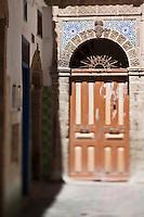Afrique/Afrique du Nord/Maroc/Essaouira: Vieille porte dans la médina