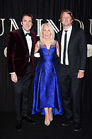 Jonathan Ross, Amanda Nevill and Tom Hooper<br /> arriving for the BFI Luminous Fundraising Gala 2017 at the Guildhall , London<br /> <br /> <br /> ©Ash Knotek  D3316  03/10/2017