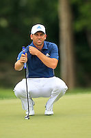 Sergio Garcia (ESP) on the 8th green during Thursday's Round 1 of the 2014 PGA Championship held at the Valhalla Club, Louisville, Kentucky.: Picture Eoin Clarke, www.golffile.ie: 7th August 2014