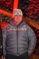 27.02.2018, Olympische Winterspiele 2018, Empfang der erfolgreichen Olympia-Sportlerinnen und Sportler aus dem Allgäu am Marktplatz Oberstdorf. Trainer Peter Leiner (Skispringen) *** Local Caption *** © pixathlon