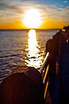 Charleston Battery Sunset Shallow depth of field
