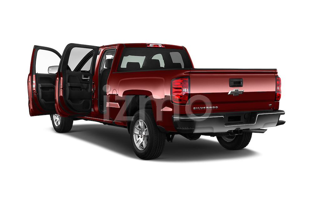 Car images of 2016 Chevrolet Silverado-1500 LT-Double-Cab-Std-Box 4 Door Pick-up Doors