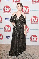 Jennifer Kirby<br /> arriving for the TV Choice Awards 2017 at The Dorchester Hotel, London. <br /> <br /> <br /> ©Ash Knotek  D3303  04/09/2017