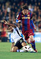 Valencia CF vs Barcelona FC 2011
