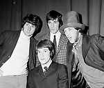 Kinks  1966 Pete Quaife, Mick Avory, Dave Davies an Ray Davies.© Chris Walter.