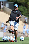 13 September 2015: UCLA assistant coach Joshua Walters. The University of North Carolina Tar Heels hosted the University of California Los Angeles Bruins at Fetzer Field in Chapel Hill, NC in a 2015 NCAA Division I Women's Soccer game. UNC won the game 3-1.