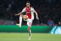 Noussair Mazraoui of Ajax during AFC Ajax vs Tottenham Hotspur, UEFA Champions League Football at the Johan Cruyff Arena on 8th May 2019