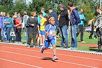 ATLETIEK: HEERENVEEN: 19-09-2015, Athletic Champs AV Heerenveen, Fanta Kondeh (#39 | 7 jaar), ©foto Martin de Jong