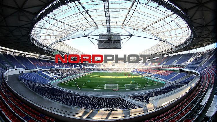 05.01.2014, HDI Arena, Hannover, GER, 1.FBL, Training Hannover 96 , im Bild Stadionfeature  (Querformat)<br /> <br /> Foto &copy; nph / Schrader